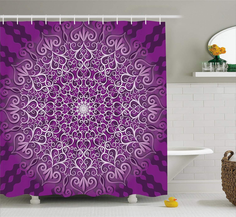 gwegvhvg Purple Mandala Tendadelladoccia Estilizado Tibetano ...
