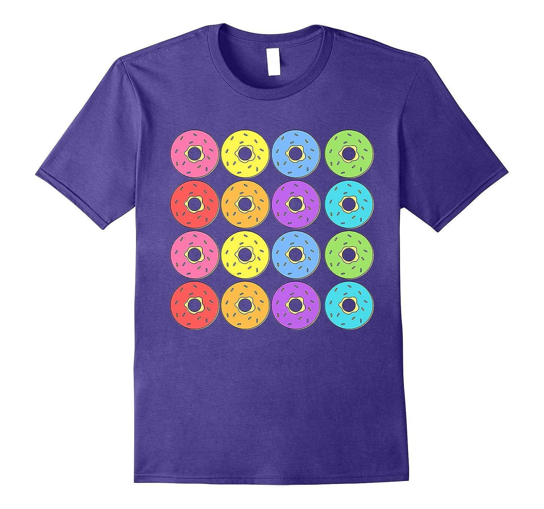16 Doughnuts T-Shirt for Those Who Love More Than a Dozen-Art