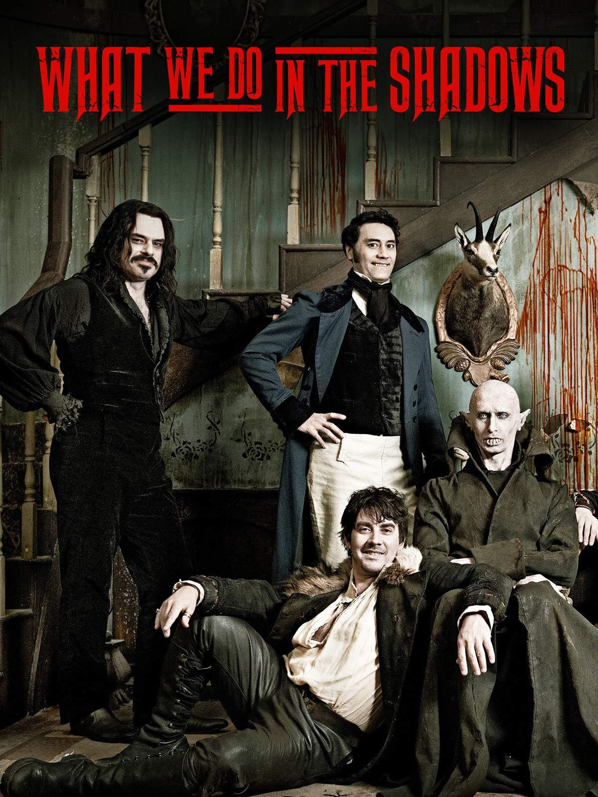 /></figure></div>  <p>Para mantener el mood de comedia, aunque esta película técnicamente se trata más bien de vampiros, los hombres lobo de la película fueron tan icónicos que el director Taika Waititi tiene desde 2014 prometiendo que hará la secuela llamada We're Wolves. «We're werewolves, not swearwolves». No se pueden perder esta comedia.</p>  <h2>Día 4:  Zombies <br><br>Pontypool</h2>  <div class=
