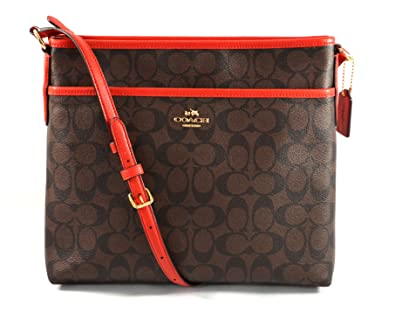 21302626 Coach Signature File Crossbody Bag