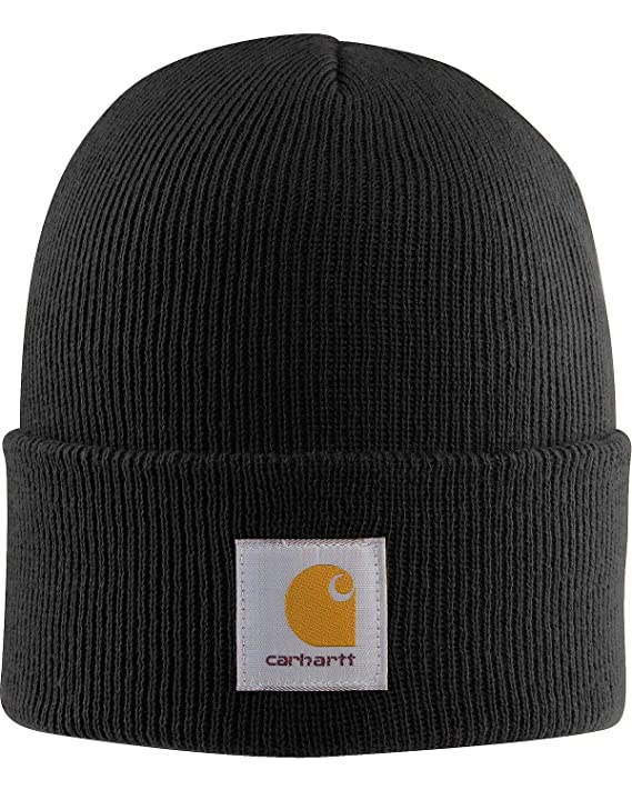 Carhartt Men's Acrylic Watch Hat A18, Black, One Size best men's beanies