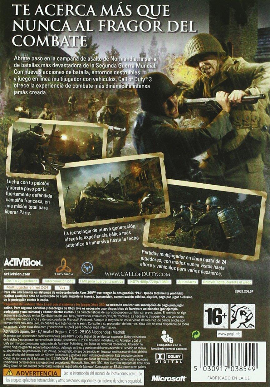 Call of Duty 3: nintendo wii: Amazon.es: Videojuegos