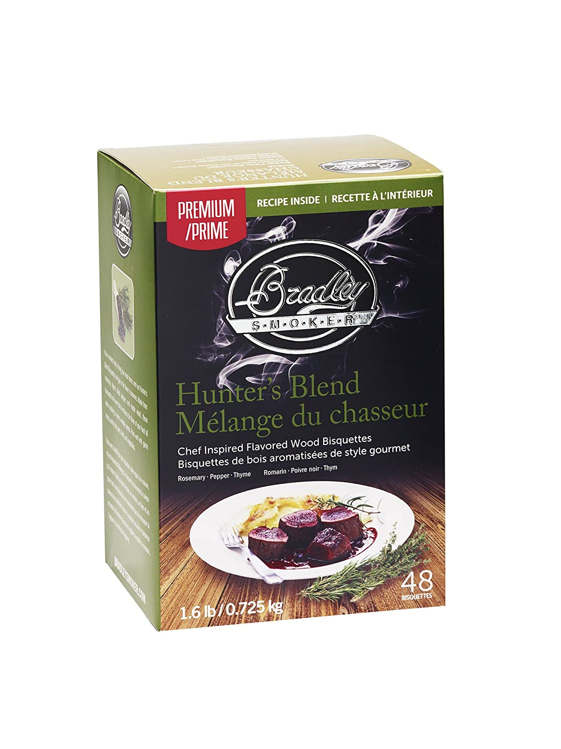 Bradley Smoker BTHB48 Hunter's Blend Bisquettes (48 Pack)