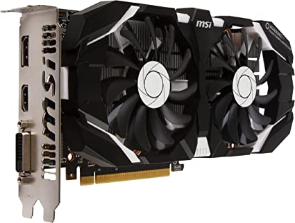 MSI GAMING GeForce GTX 1060 3GB GDRR5 192-bit HDCP Support DirectX 12 Dual Fan VR Ready OC Graphics Card (GTX 1060 3GT OC)