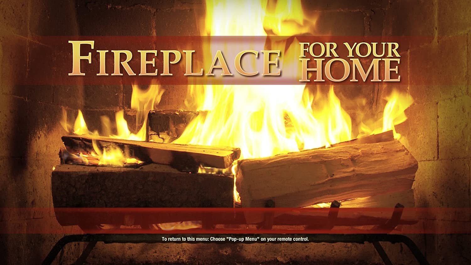 amazon com fireplace dvd for your home 5 classic edition blu ray