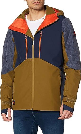 Quiksilver Mission Solid Veste de Snow pour Homme Veste de snow//ski Homme