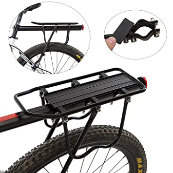 Yahill Adjustable Universal Bike Rear Rack Quick