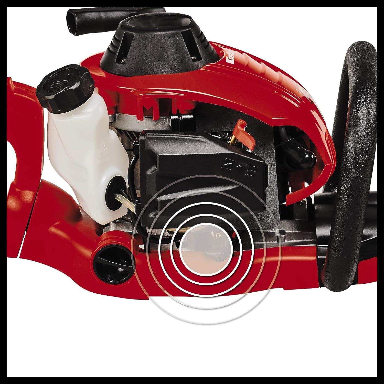 Einhell GE-PH 2555A - Recortasetos de gasolina, motor de 2 tiempos, encendido electrónico, 0.86kW (ref. 3403835)