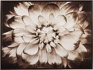 Ashley Furniture Signature Design - Phiala Sepia Floral Wall Art - Casual - Brown
