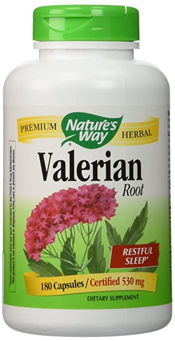 Nature's Way Valerian Root -- 180 Capsules