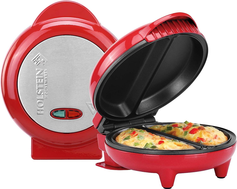 Holstein Housewares HH-09125007R Omelet Maker Red