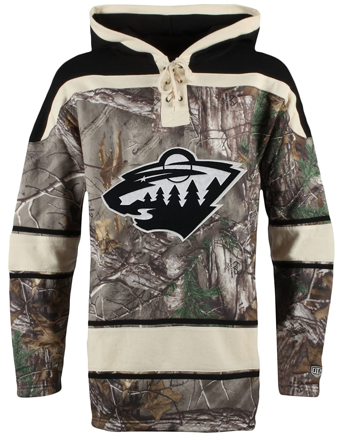 Old Time Hockey NHL Men's Camo Lacer Hoodie