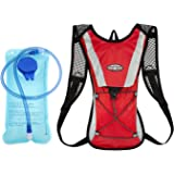OZSTOCK® Hydration Pack + 2L Water Bladder Bag Backpack Cycling Bicycle Hiking Camping