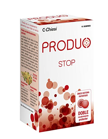 Produo Stop – Probiótico con doble capa protectora para el tratamiento diarrea aguda y por antibióticos