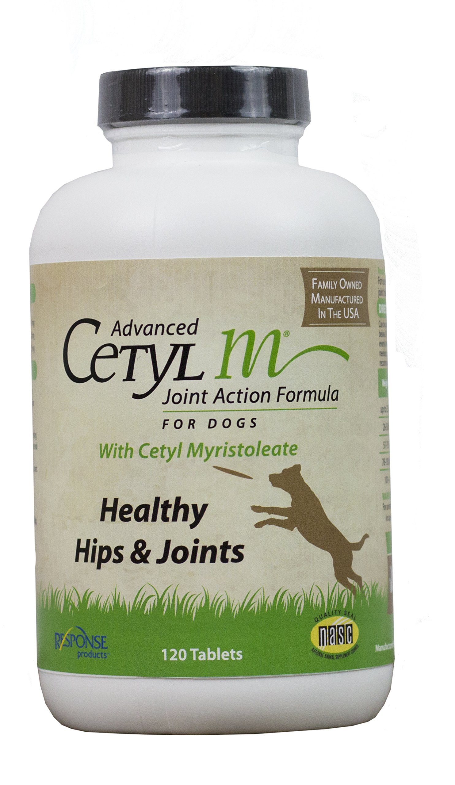 Cetyl M Joint Action Formula for Dogs 120 Count