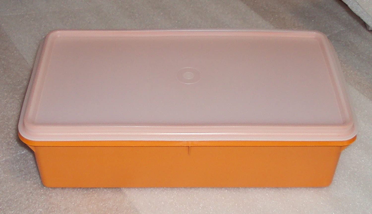 Tupperware Cracker Keeper Rectangular Container, 1980u0027s Harvest Colors:  Amazon.co.uk: Kitchen U0026 Home