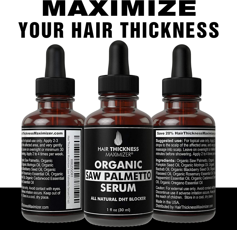 Organic Saw Palmetto Oil Serum. Stop Hair Loss Now by Hair