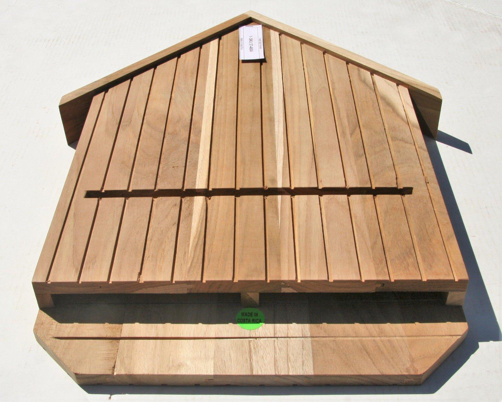 Diamond Tropical Hardwoods Solid Teak wood Bat House, great design, environmentally friendy=sustainable