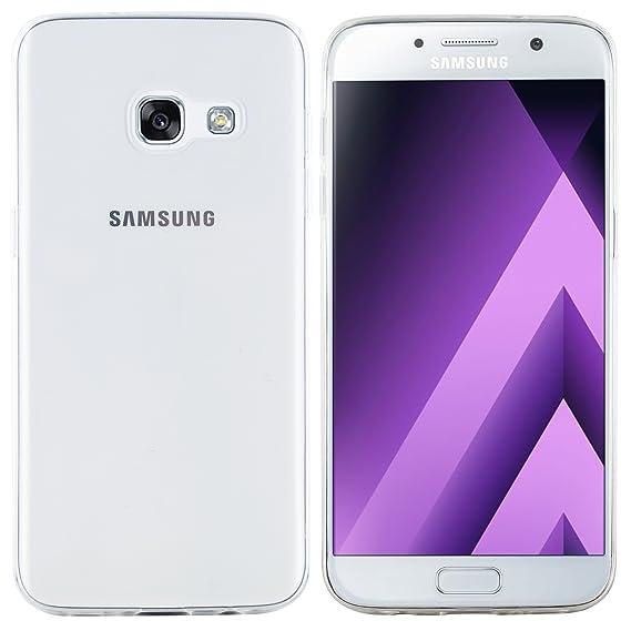 moodie Silikonhülle für Samsung Galaxy A5 2017 Hülle in Transparent - Case Schutzhülle Tasche für Samsung Galaxy A5 2017