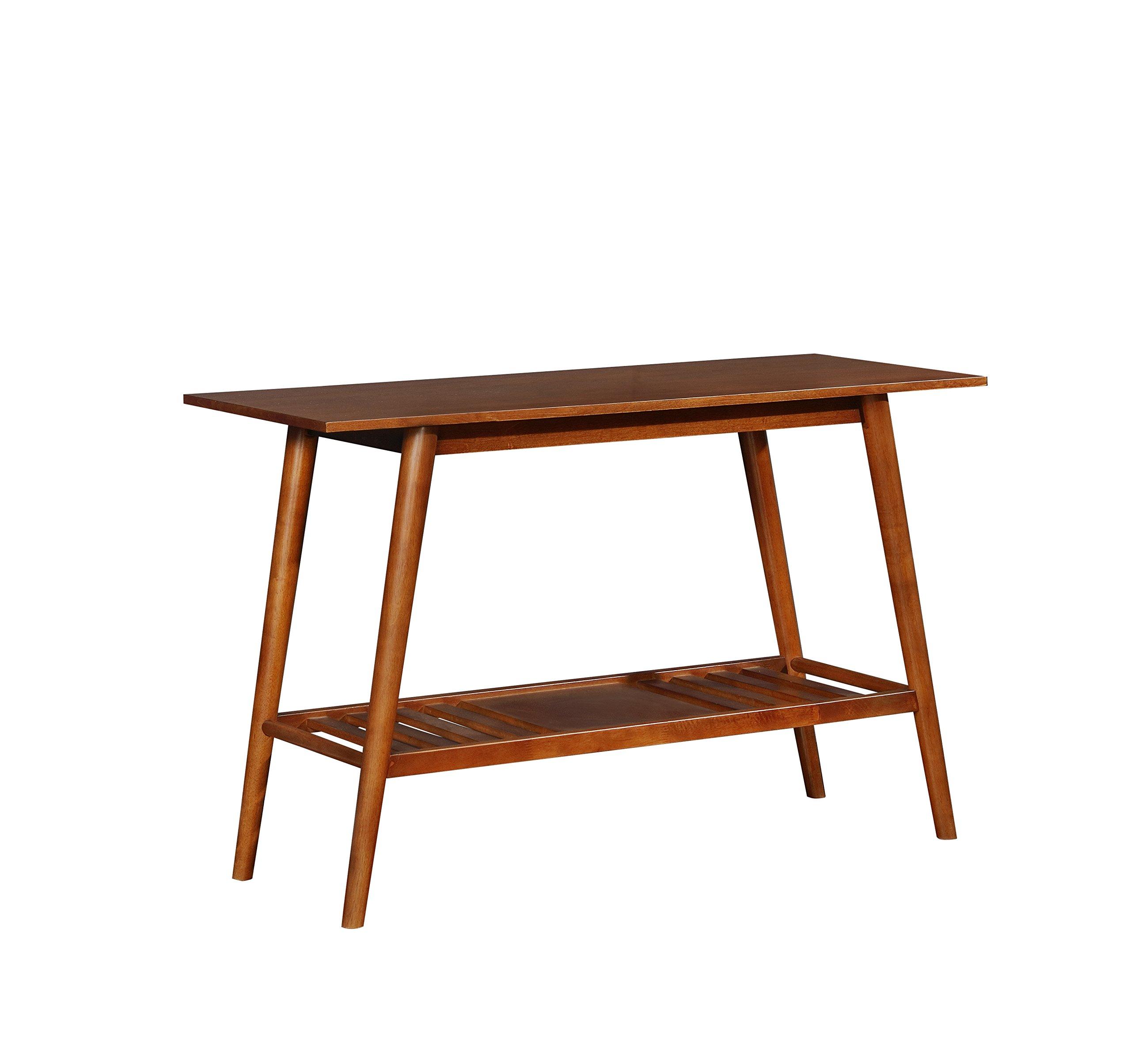 Linon  Table, Walnut by Linon