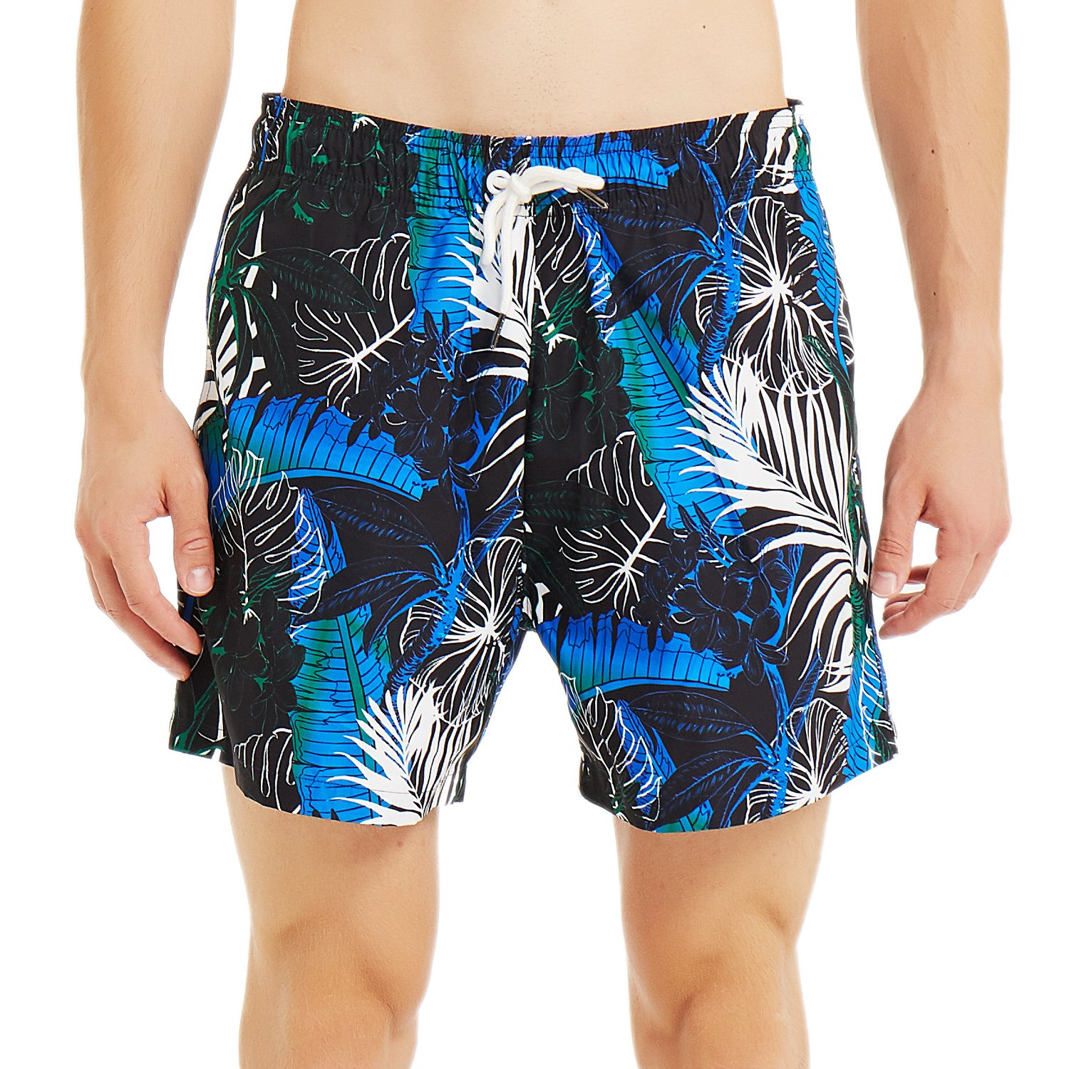 8002cd5457 ... cord,Mesh Lining. Near skin without friction and irritation .Three  useful pockets,Two side pockets and one back pocket. Men's Quick Dry Swim  Trunks ...