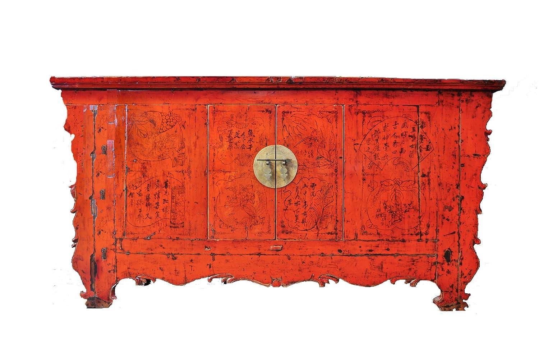 Opium Outlet Antike chinesische Kommode Sideboard Anrichte Büfett ...