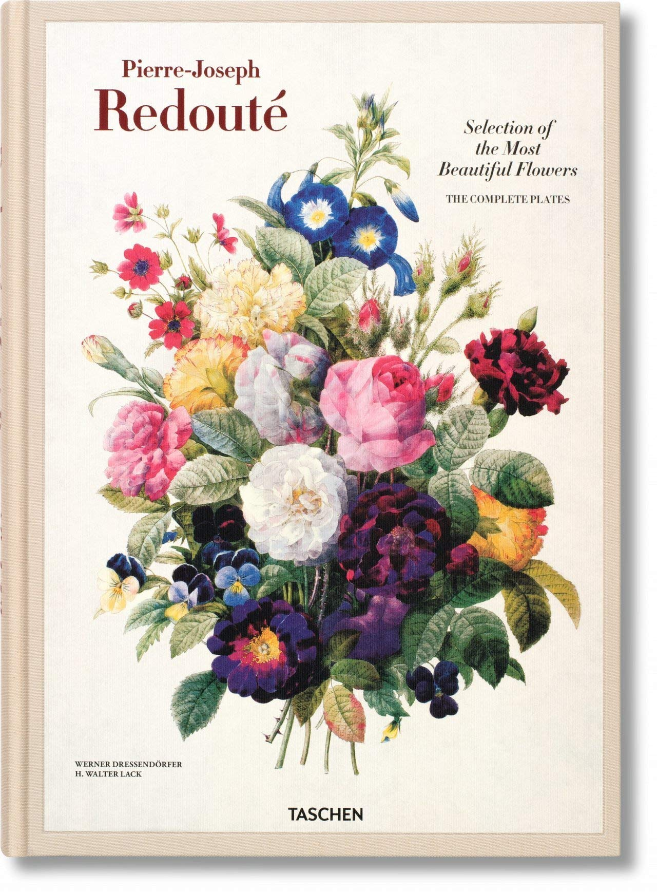 Redoute Selection Of The Most Beautiful Flowers Dressendorfer Werner Lack H Walter Redoute Pierre Joseph 9783836505154 Amazon Com Books,Black King Size Bedroom Furniture Sets
