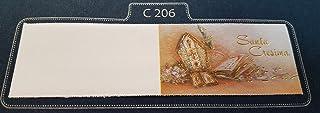 50 pezzi, Bigliettini x Bomboniera con stampe personalizzate, vari modelli. X BATTESIMO BIMBO (B036-50S) bun