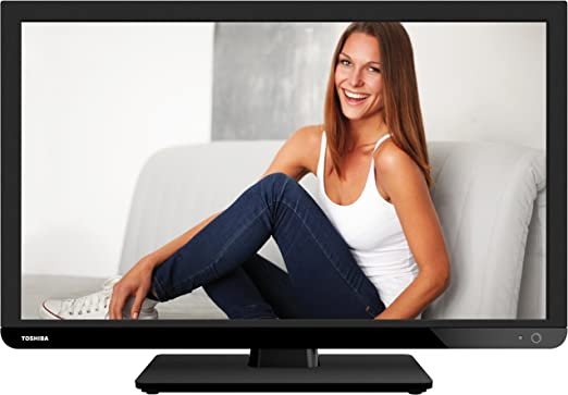 Toshiba 24W1433DG - TV Led 24 24W1433Dg HD Ready, Hdmi Y USB: Amazon.es: Electrónica