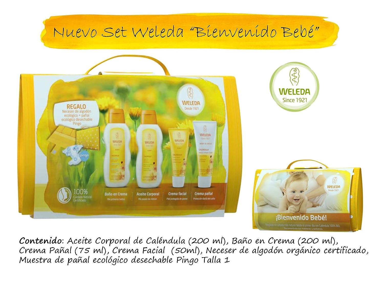NOVEDAD: Nuevo Set Weleda