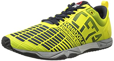Reebok Women's Crossfit Sprint TR Training Shoe, Stinger YellowReebok NavyMetallic Silver