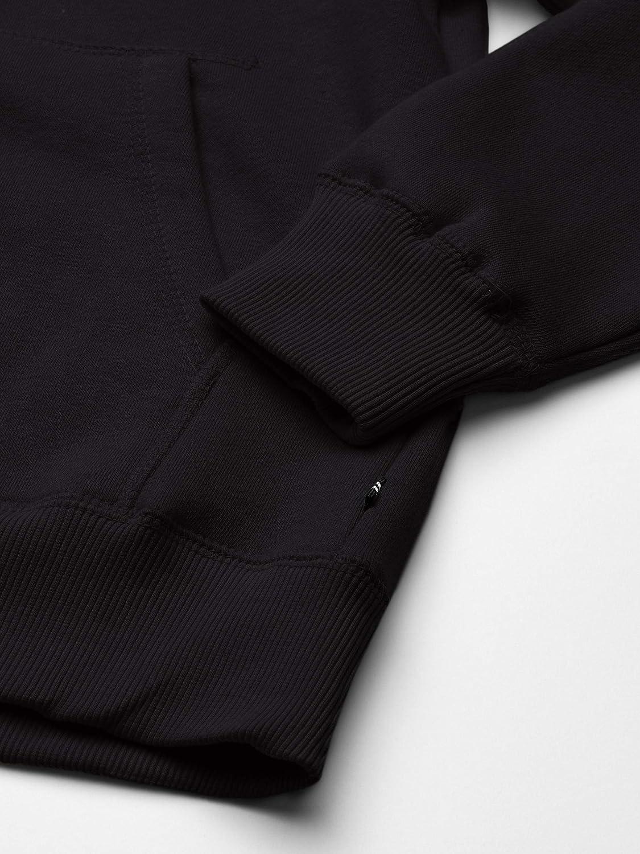 Nautica Boys Sueded Fleece Chest Logo Full Zip Hoodie