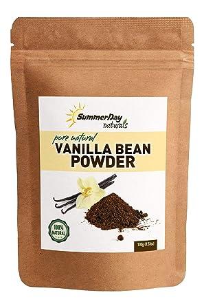 Vainilla Bean Powder, 0.40 oz – Grano de vainilla sin dulce ...