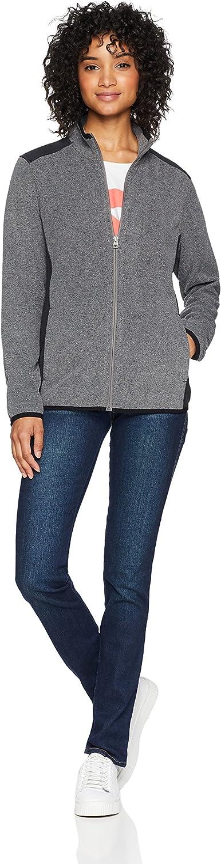 Exclusive Vapor Grey Heather Large Starter Womens Polar Fleece Jacket