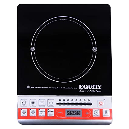 Equity Induction Cook Top Red & Black