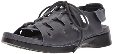 2dddfb0c37 Propet Women's Ghillie Walker Sandal, Blue, 6 Medium US