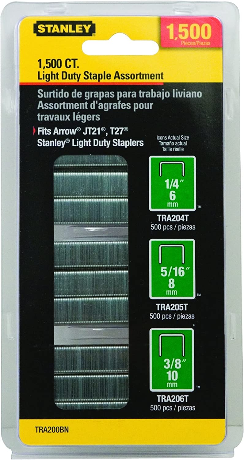 Arrow A354 Staples 6 mm Silver 1//4 inch