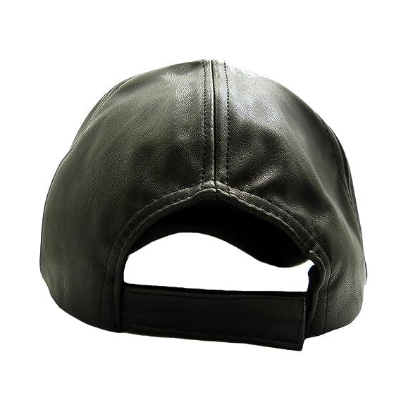 436b584ab Fashion 21 Unisex Faux Leather Baseball Cap w/Nefertiti, Ankh, Gye ...