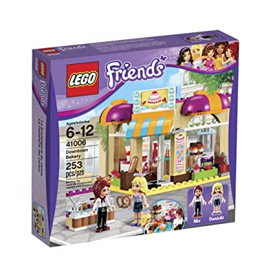 LEGO Friends 41006 Downtown Bakery: Toys & Games