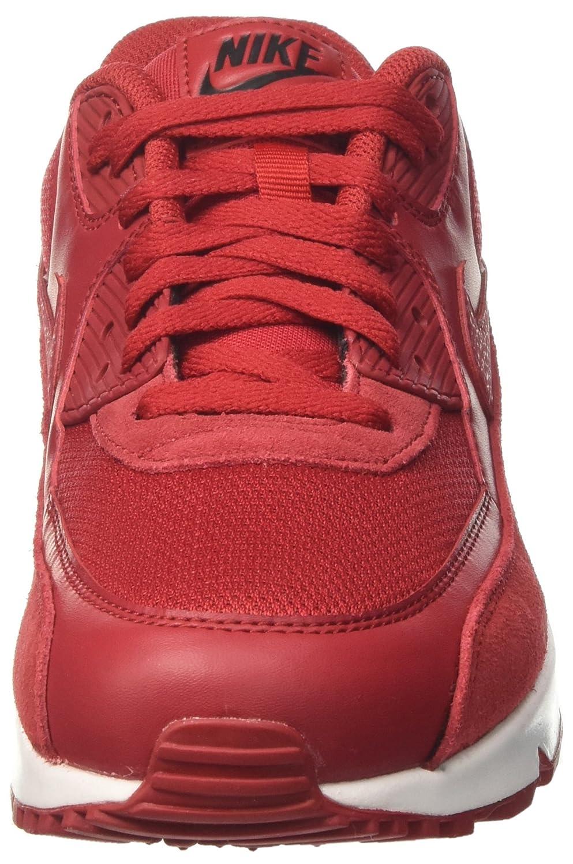 NIKE Niedrig-Top Herren Air Max 90 Essential Niedrig-Top NIKE Rot (Gym ROT/Gym ROT/Schwarz/Weiss) 2a55b8