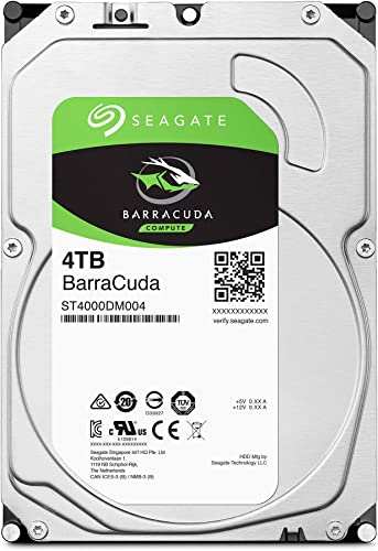 Seagate BarraCuda 4TB Internal Hard Drive HDD review