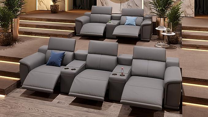 Cine en casa sofá piel sofá relax sofá sofá cama de TV sofá ...