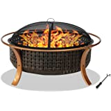 Centurion Supports Fireology CAPULET Elegant Garden & Patio Heater, Fire Pit, Barbecue and Ice Bucket - Copper Finish