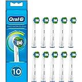Oral-B Precision Clean Borsthuvud med Cleanmaximiser, Vit, 10 st