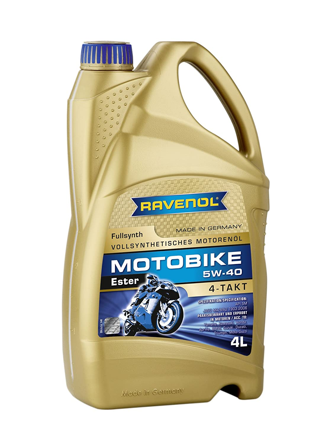 Ravenol Four-Stroke Oil}
