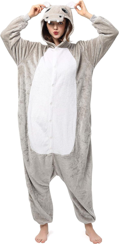 Orso bianco 165-175cm Katara 1744 Kigurumi Unisex Adulti Costume Animale Pigiama intero Carnevale