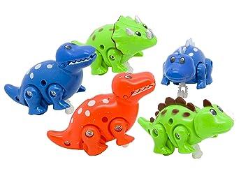 Wind up dinosaur 5 pieces supplied clockwork toys party bags wind up dinosaur 5 pieces supplied clockwork toys party bags filler gift negle Images