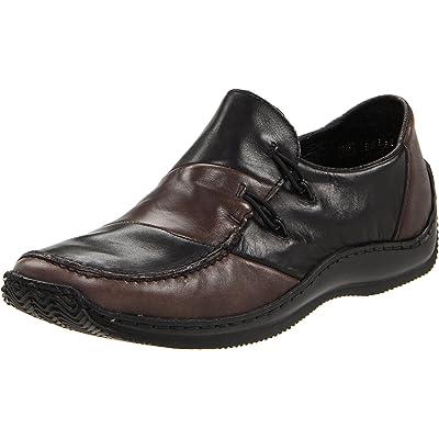 Rieker Women's L1762, Smoke/Black Leather 36 EU/5-5.5 M US   Flats