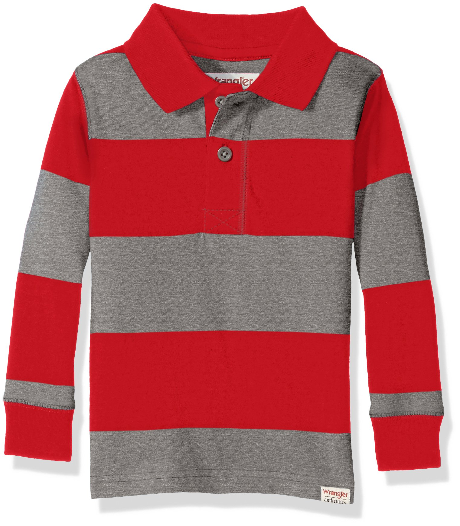 Wrangler Authentics Infant & Toddler Baby Boys Long Sleeve Knit