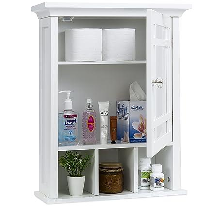 Gentil Best Choice Products Home Furniture Bathroom Vanity Mirror Wall  Organizational Storage Cabinet   White
